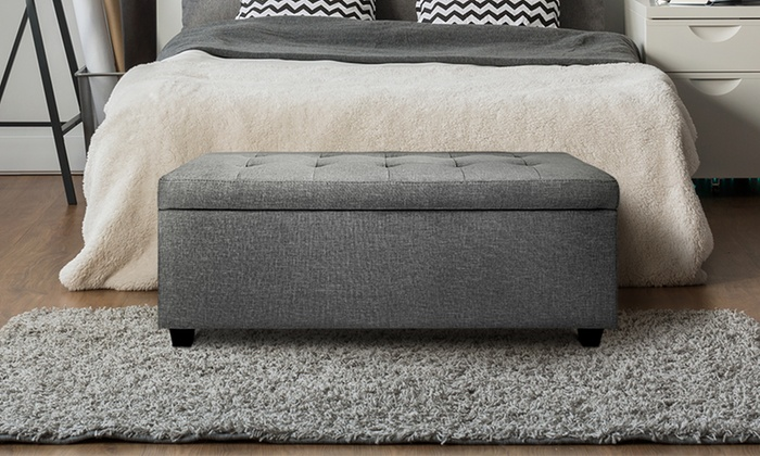 Seating And Storage Ottomans Groupon