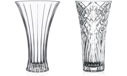 RCR Glass Flower Vase