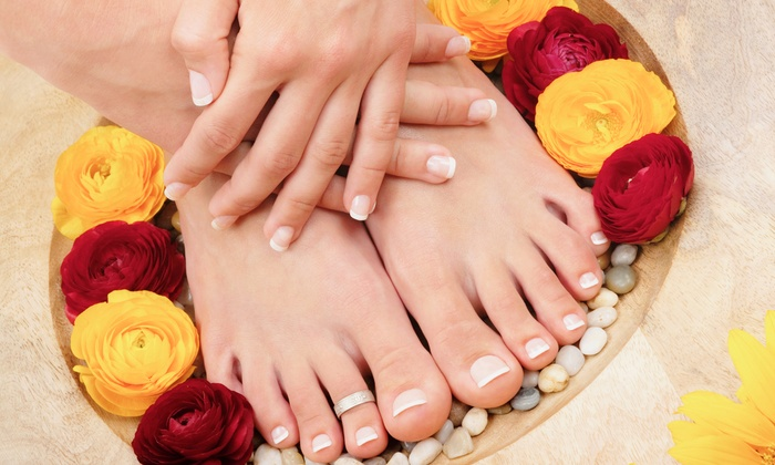 All About You Day Spa - Huntertown: One or Three Mani-Pedis at All About You Day Spa (Up to 62% Off)
