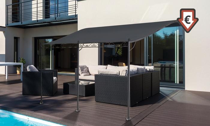 auvent de terrasse groupon. Black Bedroom Furniture Sets. Home Design Ideas