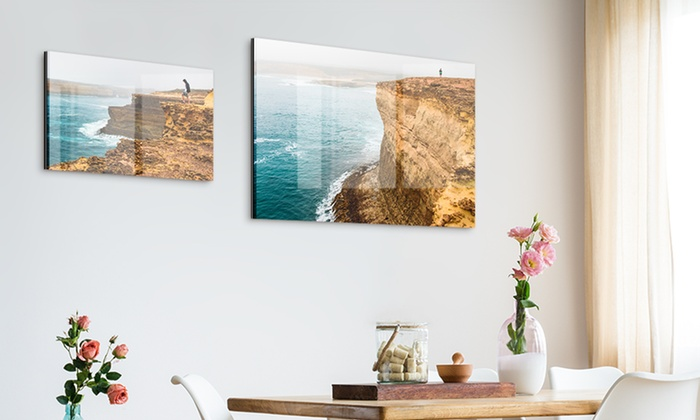 foto auf acrylglas und aluminium photo gifts groupon. Black Bedroom Furniture Sets. Home Design Ideas