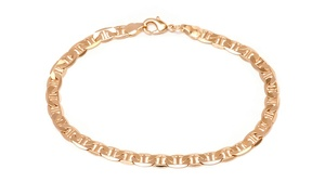 18K Gold-Plated Mariner Anklet