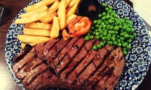 The Bull at Towcester: Two-Course Meal for Two or Four at The Bull at Towcester (Up to 46% Off)