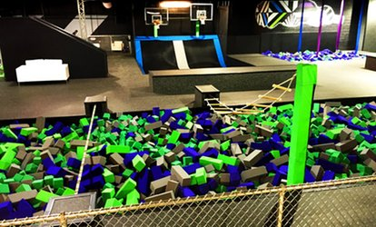 image for Two, Four, or Six 60-Minute Jump Passes or a Party for Up to 10 People at AirStrike (Up to 50% Off)