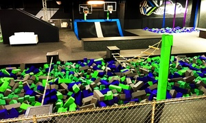 Up to 50% Off Jump Passes or a Party at AirStrike at AirStrike Extreme Air Sports, plus 6.0% Cash Back from Ebates.