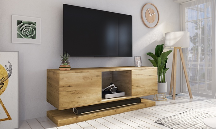 Tv Meubel Break.Wizz Tv Cabinet Groupon