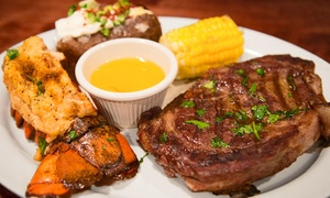 New Orleans Bar & Grill: Cajun Food at New Orleans Bar & Grill (Up to 45% Off). Two Options Available.