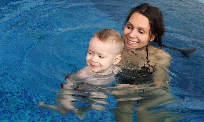 Aqua-Tots Swim School of Mansfield - Mansfield Pointe: $54 for Four Children's Swimming Lessons at Aqua-Tots Swim Schools (Up to $109 Value)