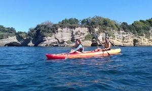 Culturavventura: Escursione in kayak con degustazione vini e aperitivo per 2 persone con Culturavventura (sconto 50%)