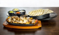 Two-Course Meal with Wine for Two or Four at El Guaca Mexican Grill (Up to 51% Off)