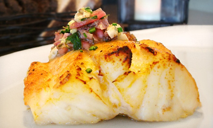 Sea Watch on the Ocean - Sea Ranch Lakes: Seafood and Steak-House Fare During Dinner or Lunch at Sea Watch on the Ocean in Lauderdale by the Sea (Half Off)
