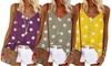 V-Neck Daisy Print Vest Top
