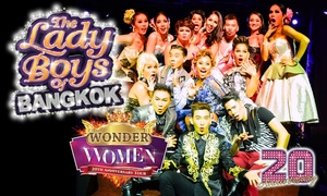 Exchange Events Ltd - Ladyboys of Bangkok: Ladyboys of Bangkok: Premium Thai Experience with Meal, 1 April–21 June, Three Locations (Up to 38% Off)