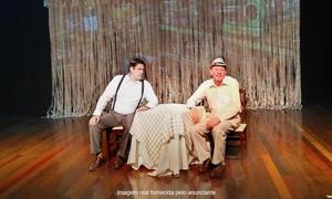 Fred Soares Produções: O Cândido Chico Xavier – Teatro SESC House Trade: 1 ingresso para 21, 22 ou 23/07
