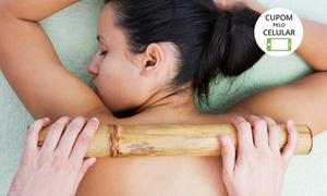 Dri Estetic Hair: Dri Estétic Hair – Tibery: 4, 8 ou 12 visitas de massagem modeladora, bambuterapia e ultrassom terapy