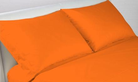 Fino a 2 completi lenzuola o federe disponibili in varie dimensioni e colori