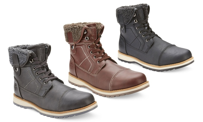 Reserved Men's Mid-Top Boots