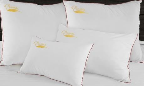 1, 2 o 4 almohadas de plumas