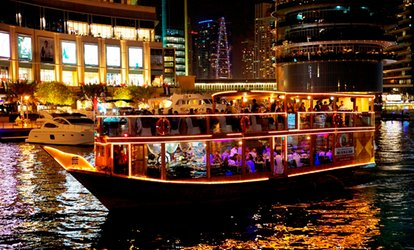 Dubai Marina Dinner Buffet Cruise with Beverages
