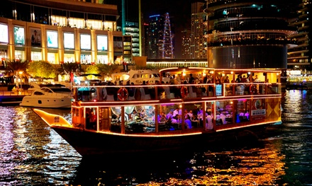 Dubai Marina Dinner Cruise for Children and Adults with Desert Rangers