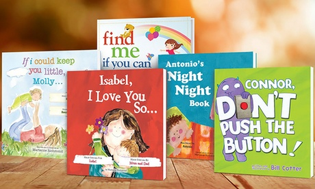 One, Two, Three, or Four Personalized Paperback Kids' Books (Up to 58% Off) 6b32dfb9-d35c-46a2-8981-3b9826d9f098