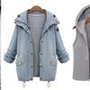 Two-in-One Denim Jacket