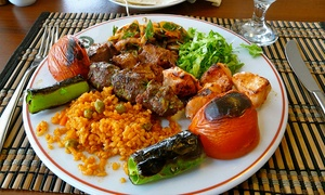 Tuana: Two-Course Turkish Meal for Two or Four at Tuana (Up to 63% Off)