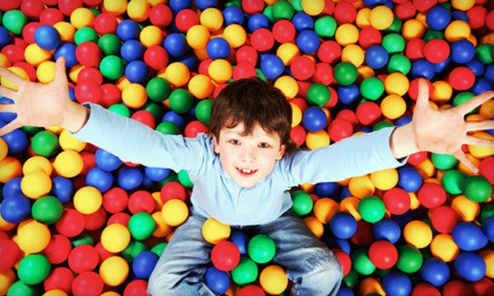 KangaZoom - Alpharetta: 10 Open-Play Sessions or a Party for Up to 15 Kids at KangaZoom in Alpharetta (Up to 58% Off)