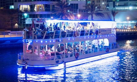 Yas Marina Glass Boat Dinner Cruise for Up to Six with Desert Rangers (Up to 31% Off)