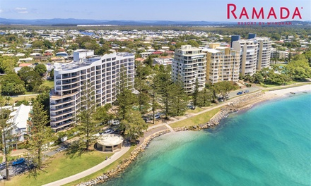 Sunshine Coast: 2-3 Nights for 2-4 with Kayak, Bike, and DVD Hire, Wine and Late Check-Out at Ramada Resort Golden Beach