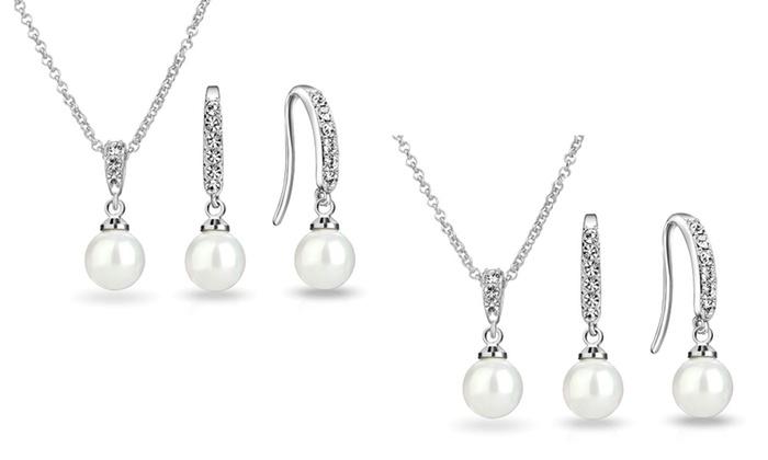 Perlen schmuckset groupon