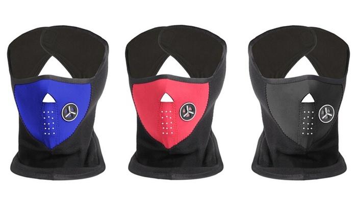 Groupon Goods Global GmbH: Ski-Maske aus Neopren und Fleece in Schwarz, Blau oder Rot (67% sparen*)