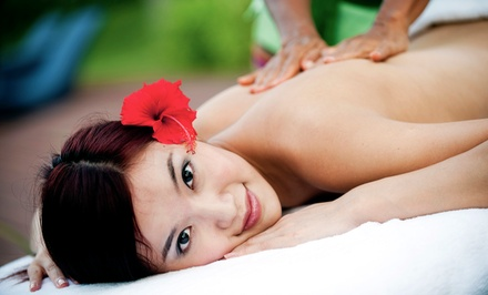 $49 for a 60-Minute Back or Aromatherapy Massage at Metropolitan Aromatherapy and Relaxation Studio ($110 Value)