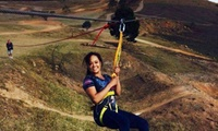 400-Metre Zipline Adventure with a Cheeseburger and Cold Drink Each for Two for R129 at Highstakes