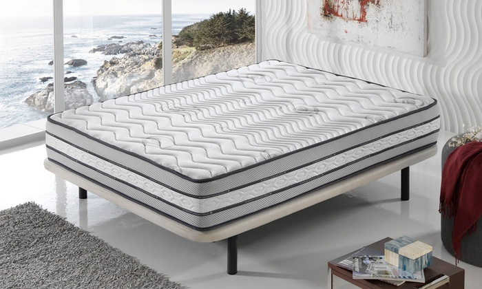 matelas double face m moire de forme groupon. Black Bedroom Furniture Sets. Home Design Ideas