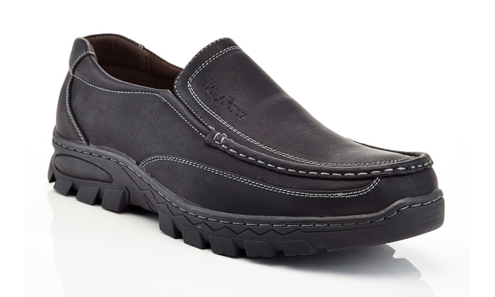 Comfort Heavy Duty Loafers with Elastic