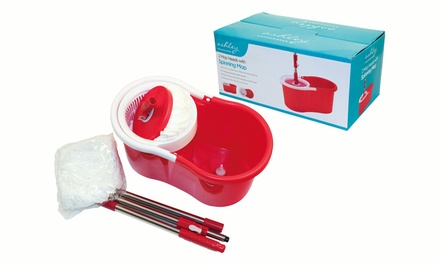 Spinning Mop with Two Mop Heads for €19.99