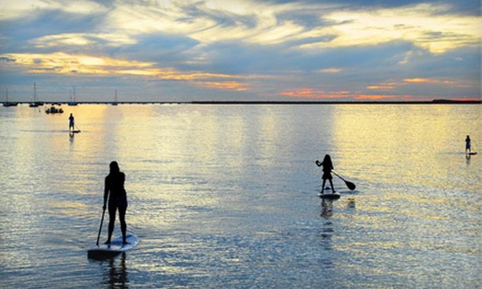 Lake Minnetonka Marina - Mound: 4 or 10 Paddleboard Rentals from Lake Minnetonka Marina (Up to 60% Off)
