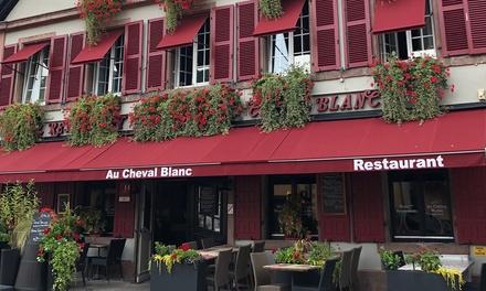 Alsace : 1 à 3 nuits avec petit-déjeuner, accès spa et menu en option Au Cheval Blanc de Ribeauvillé pour 2 personnes
