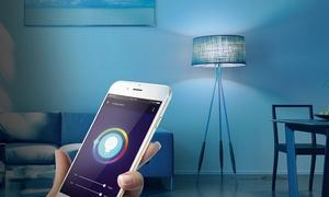 Merkury Innovations Bright 800-Lumen Smart WiFI LED Light Bulb