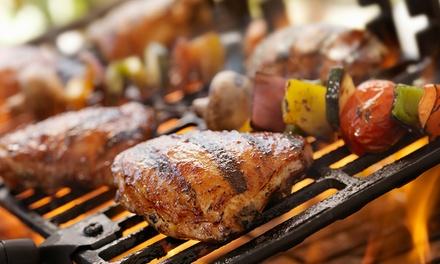 Grillspießteller inkl. Beilage mit je 250g Fleisch für 2 oder 4 im Restaurant La Buena Tierra (bis zu 52% sparen*)