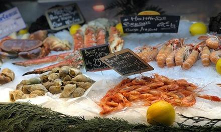 Des fruits de mer au choix
