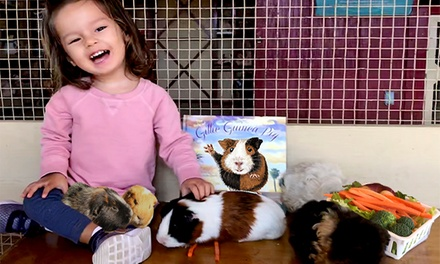 Petting Zoo Package for Four with Train Rides and Children's Book at Zoomars ($63.99 Value)