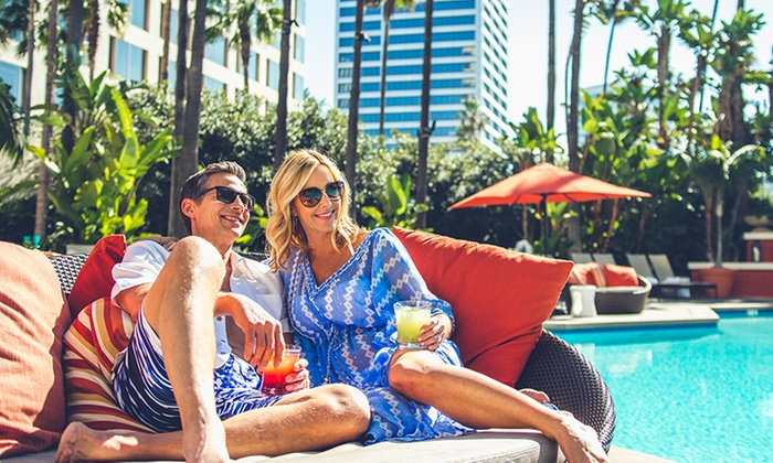 Fashion Island Hotel Newport Beach Single Or S Spa And Pool Day Packages At