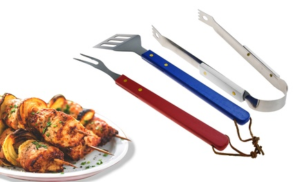 Three-Piece Barbecue Tool Set