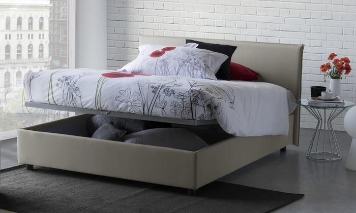 Letti Di Design Con Contenitore : Letto contenitore di design milano groupon goods
