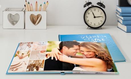 1, 2 o 3 fotolibros personalizables de tapa dura en formato a elegir con 20, 40 o 60 páginas con Printerpix (ES)