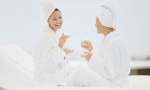 Zen Day Spa: Half-Day Spa Experience with Treatments, Use of Relaxation Suite and Tea for One or Two at Zen Day Spa (Up to 56% Off)