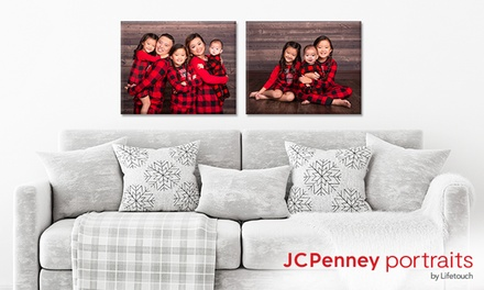 groupon.com - Professional In-Studio Photo Shoot & Canvas Print or Canvas Print at JCPenney Portraits (Up to 85% Off)