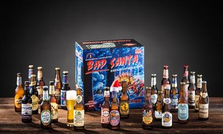 Calendrier de lAvent de la Bière KALEA® Edition Vilain Père Noël (24 Bières et 1 Verre), livraison offerte